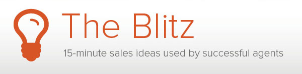 The Blitz 15 minute sales ideas used by succesful agents